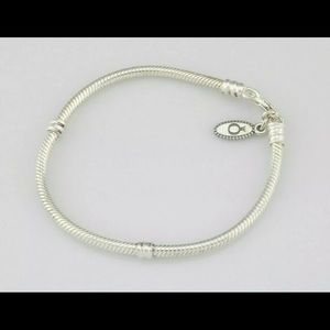 Pandora 7 inch bracelet with lobster clasp